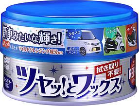 REFINE Soft99 Paste Wax — очищающая полироль для всех цветов