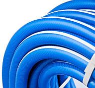 Поливочный шланг армированный ЦВЕТНАЯ РАДУГА 3/4 бухта 30м цвет синий с белой полосой.