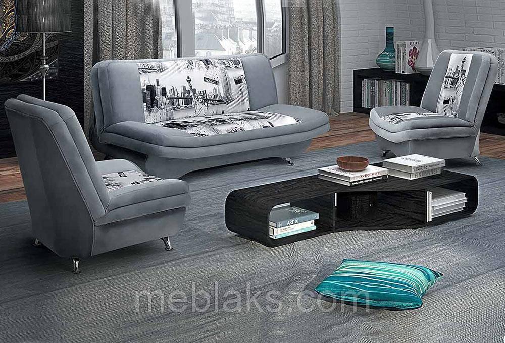 Мягкий гарнитур Марсель (диван + 2 кресла)   Udin