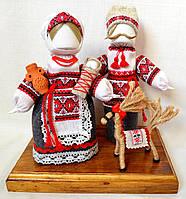 Кукла-мотанка КЛЮЙ Неразлучники Дарина и Петро 25 см Разноцветная (K0008NDP)