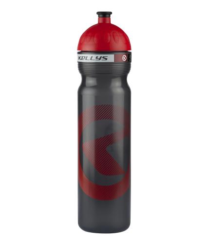 Фляга KLS Kalahari 1000мл черный-красный