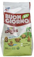 Печенье органическое с рисом ZOO PARTY, 350 г, Buongiorno Bio ORGANIC ZOO PARTY RICE BISCUITS (8017977024207)