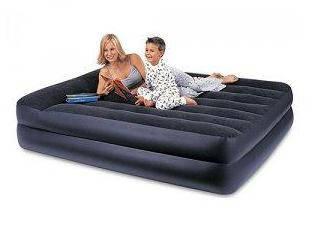 Надувная двухместная кровать Intex 66720, размер 203х157х47 см, без встроенного электрического насоса, фото 2