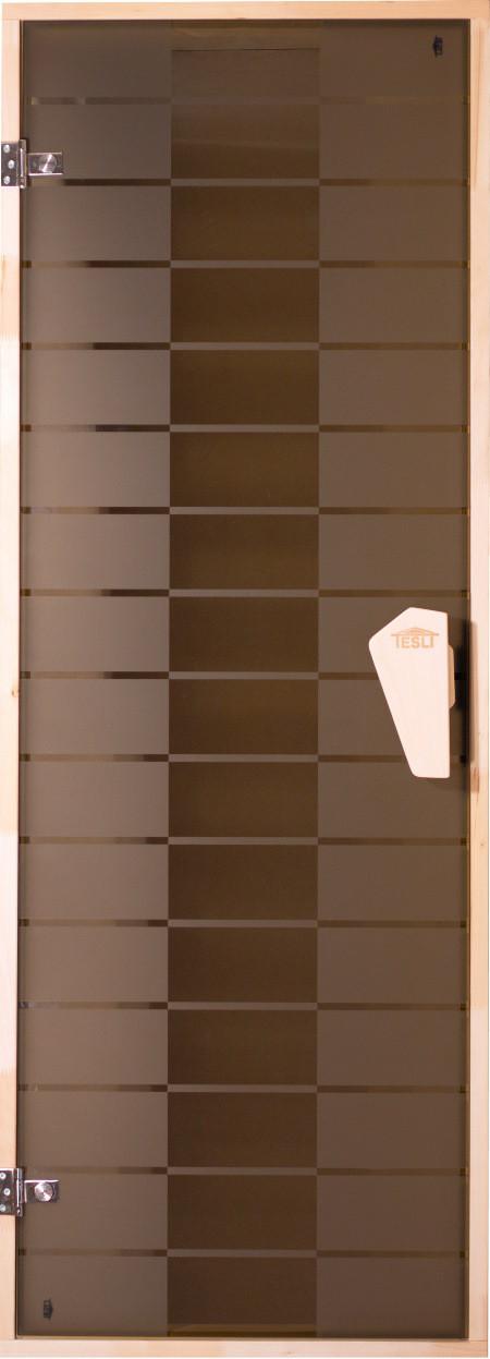 Дверь для сауны «Plaza - Graphic»
