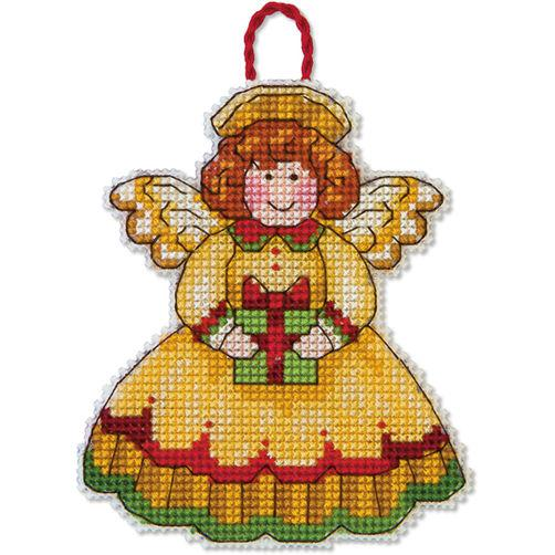 Набор для вышивания крестом Украшение Ангел/Angel Ornament DIMENSIONS 70-08893