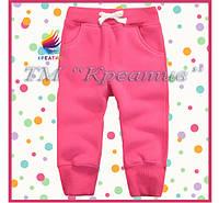 Детские штаны флисовые под заказ от 50 ед., фото 1