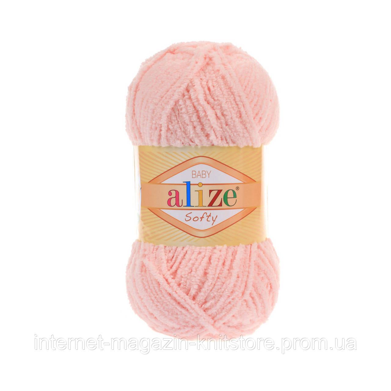 Пряжа Alize Softy Розовый