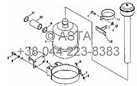 Воздушный фильтр в сборе на YTO-X804