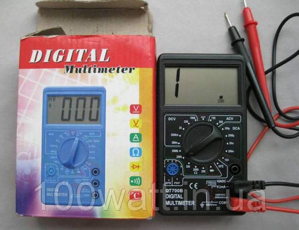 Мультиметр цифровой DT-700 B тестр GAV399
