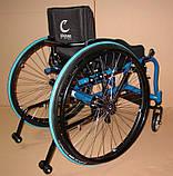 Новая Активная Инвалидная Коляска Colours Krypto Active Wheelchair 36cm/36cm, фото 3