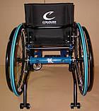 Новая Активная Инвалидная Коляска Colours Krypto Active Wheelchair 36cm/36cm, фото 4