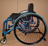 Новая Активная Инвалидная Коляска Colours Krypto Active Wheelchair 36cm/36cm, фото 5