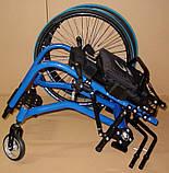 Новая Активная Инвалидная Коляска Colours Krypto Active Wheelchair 36cm/36cm, фото 8