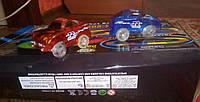 Magic Tracks 360 оригинал деталей мост 2 машинки с музыкой светящаяся гоночная трасса меджик трек автотрек