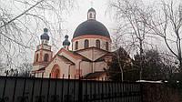 Покраска фасада церкви резиновой краской Performa Plus Kale, фото 1