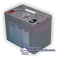 Акумуляторна батарея LogicPower LPM - MG 80 AH, 12 V, фото 1