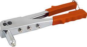Заклёпочник усиленный, 250мм(заклёпка 3,2; 4; 4,8мм) Miol 70-020