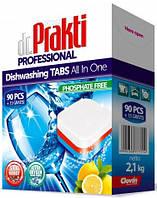 Таблетки для посудомоечных машины Dr.Prakti 90 + 15 шт.