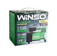 Компресор автомобільний WINSO 7 Атм, 37 л/хв, 124000 (з функцією АВТОСТОП)