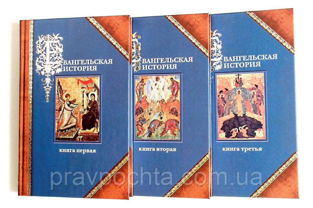 Евангельская история в 3-х книгах. Протоиерей П. А. Матвеевский