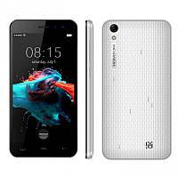 "Смартфон Homtom HT16 White, 1/8Gb, 2sim, 3G, экран 5"" IPS, 4 ядра, 8/5Мп, 3000мАч, GPS, Android 6.0"