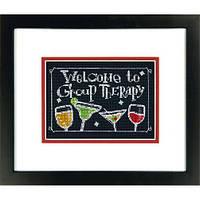 Набор для вышивания крестом Груповая терапия/Group Therapy DIMENSIONS 70-65147
