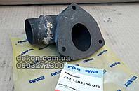 Патрубок  подвода воды  ЯМЗ 240-1303166-Б производство ЯМЗ, фото 1