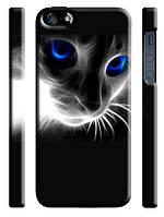 Чехол для iPhone 4/4s/5/5s/5с/6  кот голубые глаза