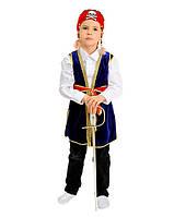 Джек Воробей карнавальный костюм для мальчика упрощенный \ Pur - 19328