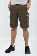 Карго шорты для подростка летние Urban Planet olive