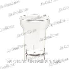 Пластиковий прозорий стакан для напоїв POLO PLAST Granita 260 (250 мл)