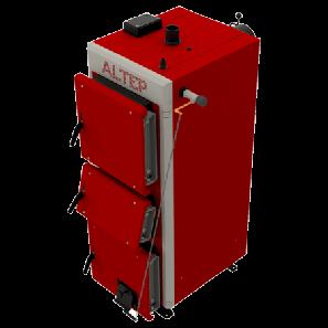 Котел длительного горения Альтеп Duo Uni Plus 15 кВт с механическим регулятором тяги, фото 2