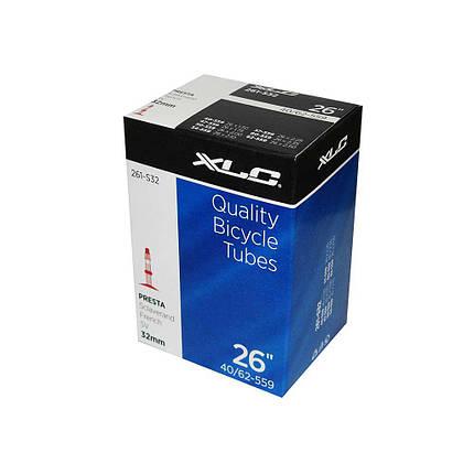 """Камера XLC, 26""""x1.5-2.5 (40/62-559) SV 33mm, фото 2"""