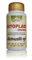 Ситопалади, простуда, кашель, бронхит, лихорадка, упадок сил, ощущение жжения, Sitopaladi churna (100gm)