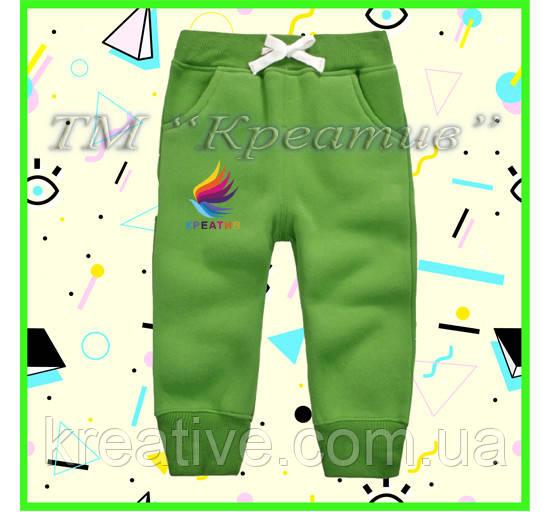 Детские оптом штаны флисовые (под заказ от 50 шт) с НДС