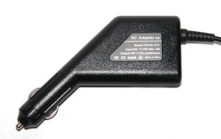 Автомобильное зарядное устройство для ноутбука Samsung 19v 4.74A 5.5*3.0, фото 2