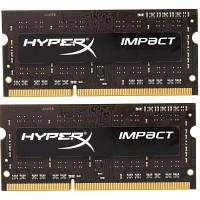 Модуль памяти для ноутбука SoDIMM DDR3L 8GB (2x4GB) 1866 MHz Kingston (HX318LS11IBK2/8)