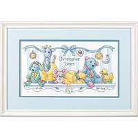 Набор для вышивания крестом Baby's Friends/Друзья малыша DIMENSIONS 70-73068