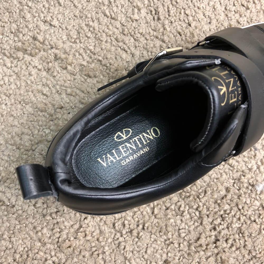 82b7fd8d74e0 Кроссовки мужские Valentino V-Punk 18770 черные - купить по лучшей ...