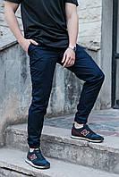 Мужские карго брюки ТУР Titan темно-синие L, синий