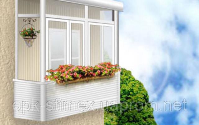 "Акция!Остекление балкона или лоджии ""под ключ"""