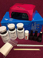 Стартовый набор для маникюра Kodi с лампой  № 11