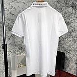 Футболка-поло мужская Valentino Polo Rockstud 18766 белая, фото 6