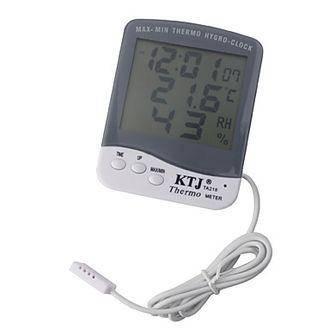 3в1 Термометр-Часы-Влагомер с выносным датчиком., фото 2