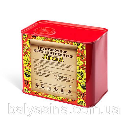 Грунтовочное масло для древесины Антисептик Живица 2 Л