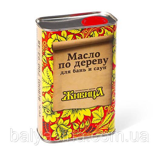 Масло для древесины для бань и саун Живица