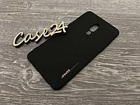 TPU чехол Smitt накладка бампер для Meizu 15 Plus черный