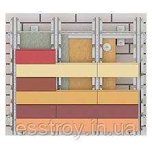 Вентфасад Host Rock  Коттедж, плитка 300х100х25 мм,цвет Классик, под утеплитель, фото 2