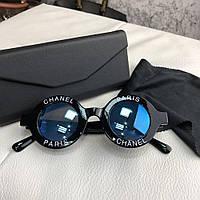 Очки Chanel Sunglasses 18689 Black-Blue