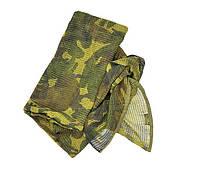 Маскировочная сетка-шарф Mil-Tec британский камуфляж (DPM), фото 1